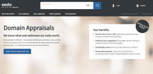 Sedo Domain Appraisal Service