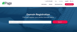 iPage Hosting & Domains