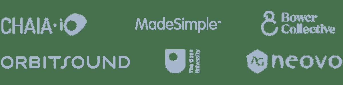 Content mobile logos